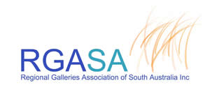 Regional Galleries Association of South Australia Logo