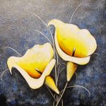 'Yellow Lilies' - Rebecca Finlay