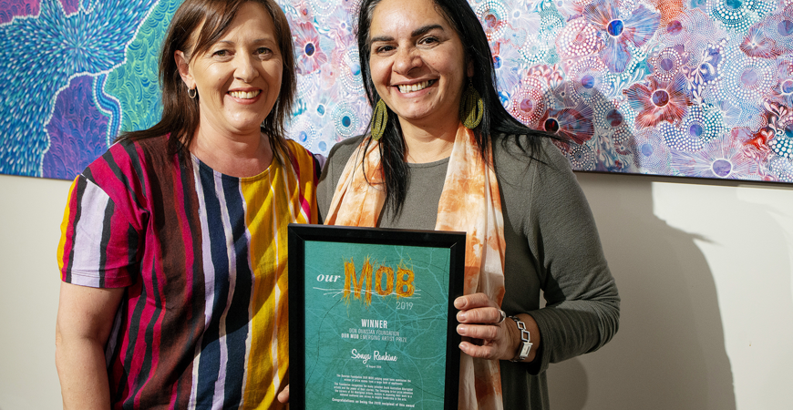 Sonya Rankine | Our Mob Emerging Artist 2019